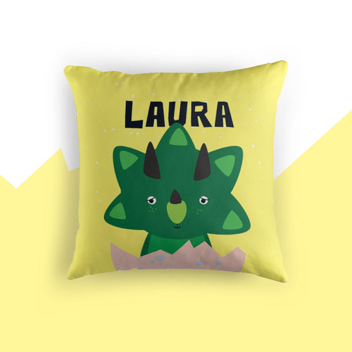 Baby Triceratops — Cushion / Pick and Name it
