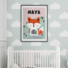 Baby Fox — Art Print / Pick and Name it