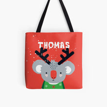 XMAS Baby Koala — Tote Bag / Pick & Name it