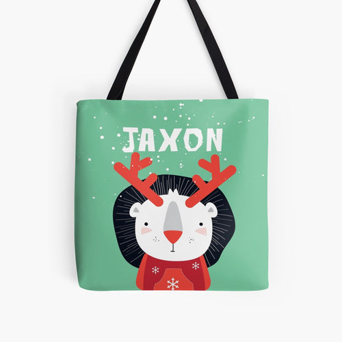 XMAS Lion Cub — Tote Bag / Pick & Name it