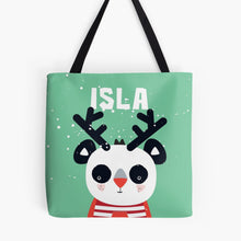XMAS Baby Panda — Tote Bag / Pick & Name it