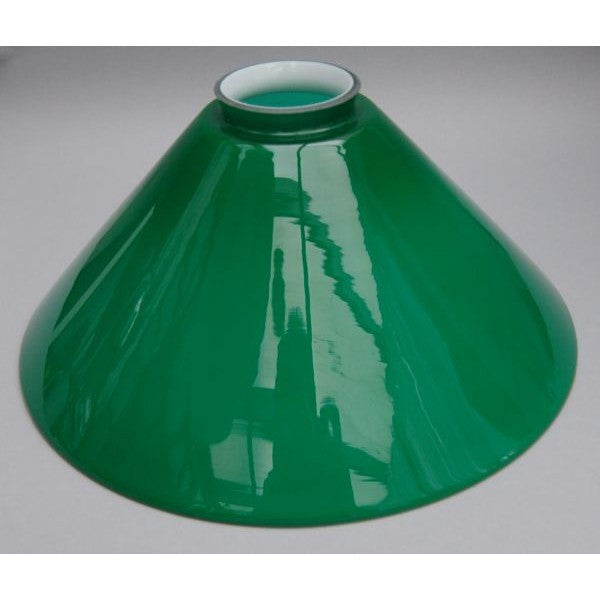 Medium Green Coolie Lamp Shade - 730654