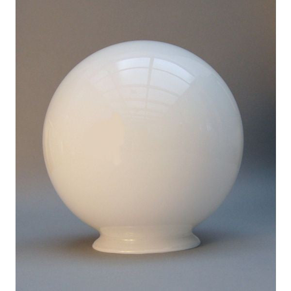 Art Deco Globe Opal White Glass Globe Lamp Shade 6 ' - 744342