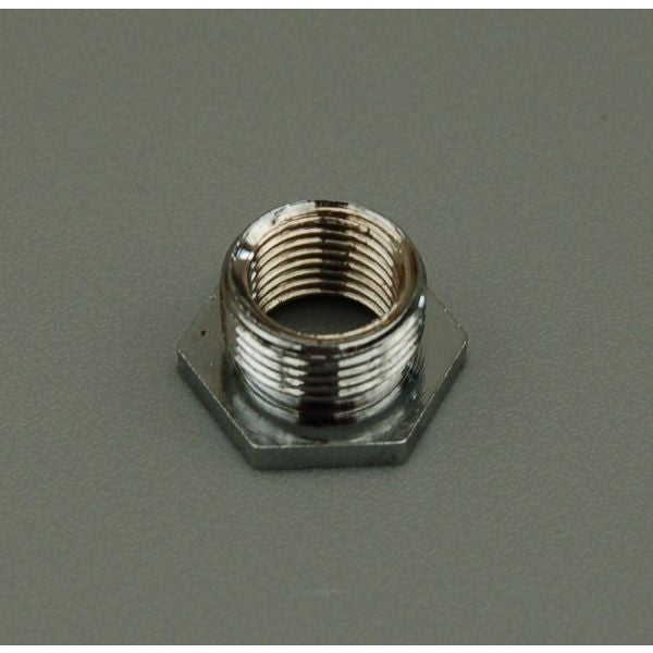 Reduction Bush - Chrome - ½' to 10mm Hex Nut - 3080C