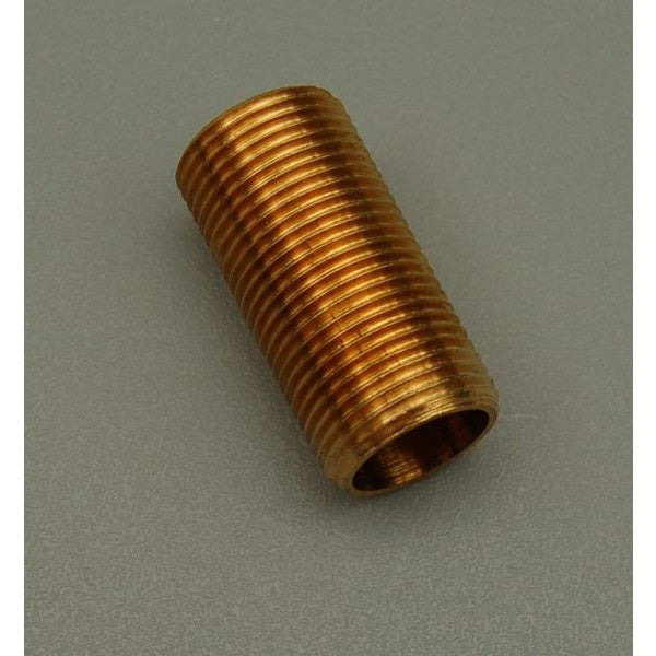 Brass Allthread Nipple ½' Thread x 1'