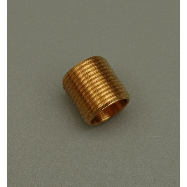 Brass Allthread Nipple ½' Thread x ½'