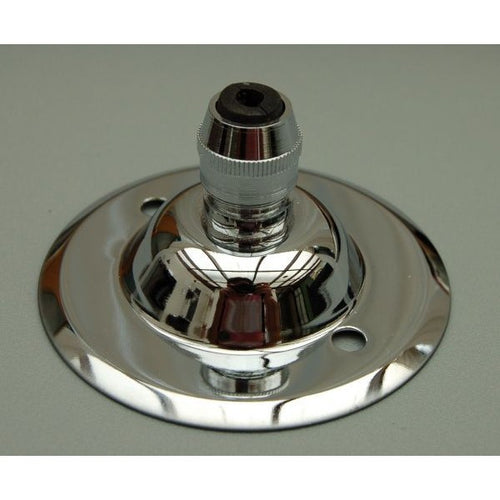 3199/3200C - Chrome Ceiling Rose & Cord Grip