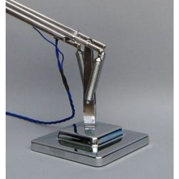 Herbert Terry Anglepoise Lamp Exchange Chrome Plated Base Cover - 1227