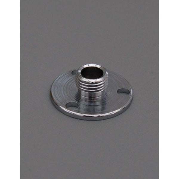 "Chrome 1' Backplate ½"" Thread - 3048C"