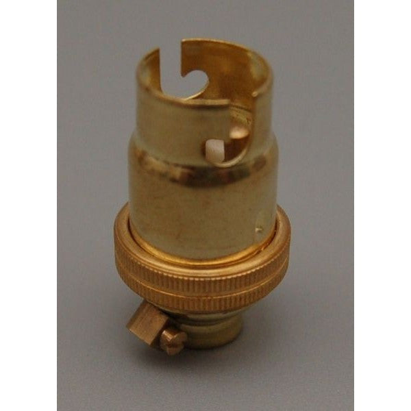 Brass SBC Lampholder 10mm - 1022E