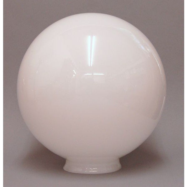 Medium Opal Globe 8' Glass Lamp Shade