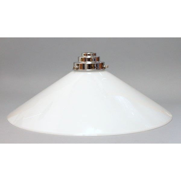 extra large opal coolie glass lamp shade art deco lighting company. Black Bedroom Furniture Sets. Home Design Ideas