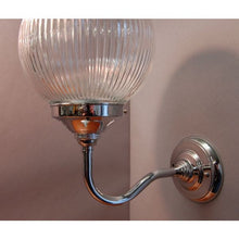 Art Deco Style Wall Light Fixture - Prismatic Shade 30S-WLPRIS