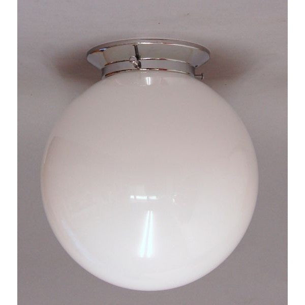 Art Deco Style Flush Mounted Globe Light Fitting