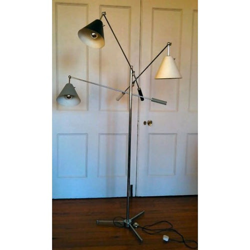 Period lamp lighting restoration lamp rewire services art deco triennale floor lamp by arredoluce keyboard keysfo Choice Image