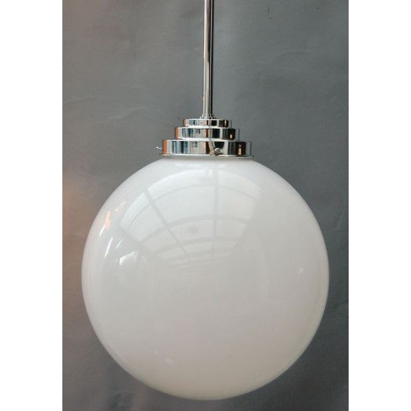 Art Deco Globe Ceiling Light 12' - 30S-GPL12
