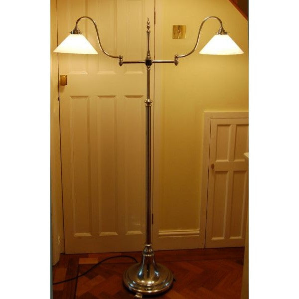 Antique Rise & Fall Standard Floor Lamp