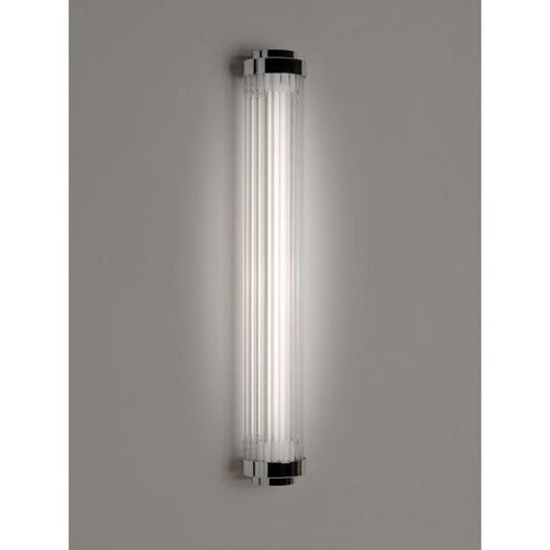 1930's Inspired Cinema Pillar Light - Clear - 30-S-PLC-LED - IP44 Rated
