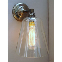 Squirrel Cage Cone Wall Light