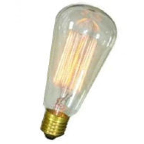 Squirrel Cage Pear Lamp E27 - 60 Watt