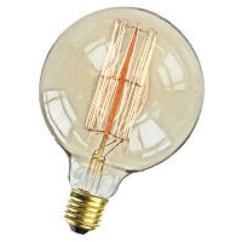 Carbon Filament Squirrel Cage 120mm Globe Lamp E27 40 Watt