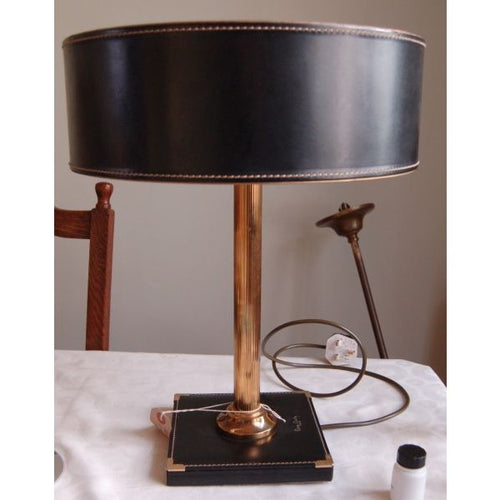 Period lamp lighting restoration lamp rewire services art pierre cardin table lamp greentooth Gallery
