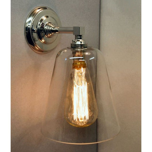 Cone wall light squirrel cage