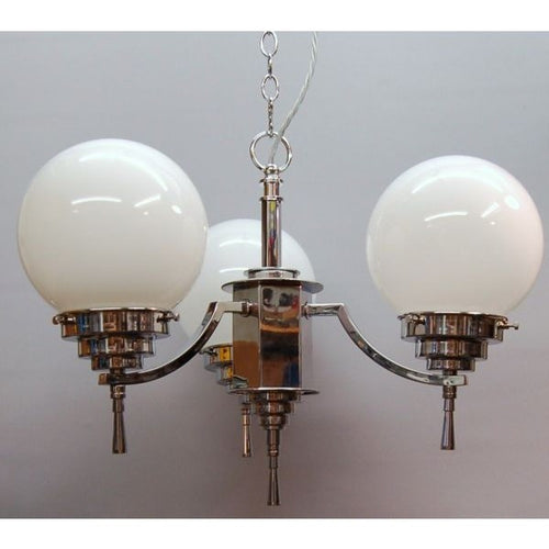 A Deco Chandelier