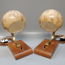 Rare Pair of Original Bauhaus Design Table Lamps