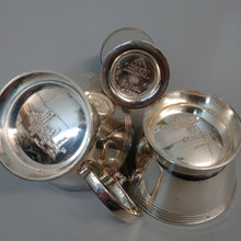 Cruet Set Designed By Keith Murray - Mappin & Web Princes Silver Plate