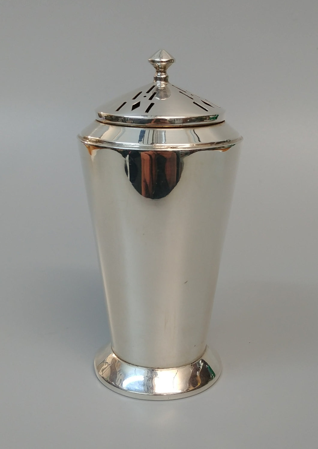 Sterling Silver Art Deco Sugar Shaker - Roberts and Dore Birmingham 1933