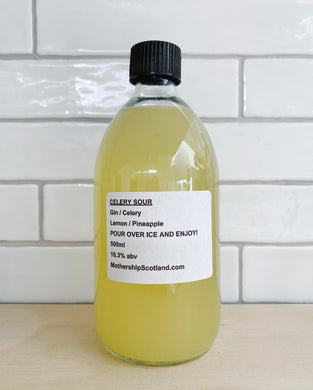 Celery Sour - 500ml Bottled Cocktail