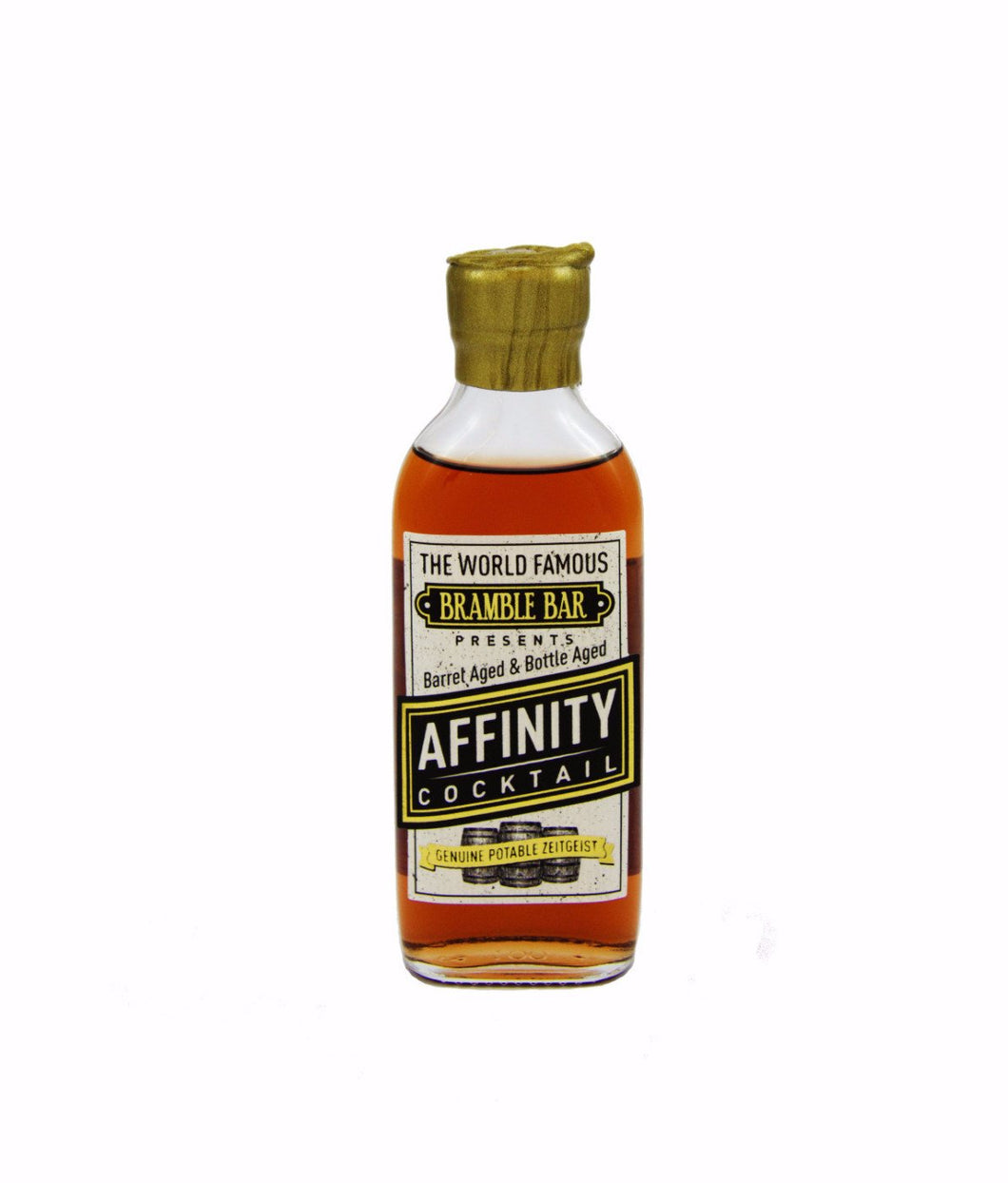 affinity cocktail by bramble bar