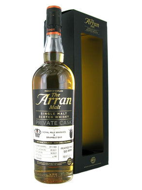 Arran 2011 Bramble and Royal Mile Whiskies Single Cask 55.3% 70cl