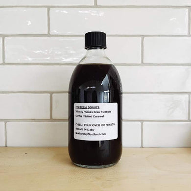 Coffee and Donuts 500ml bottled cocktail by Mothership