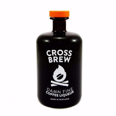 Cross Brew coffee liqueur bottle front