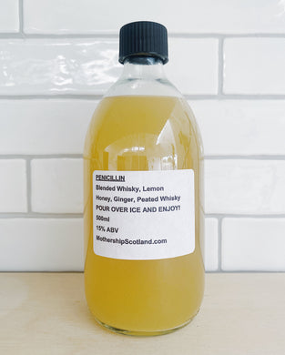 Penicillin - 500ml Bottled Cocktail