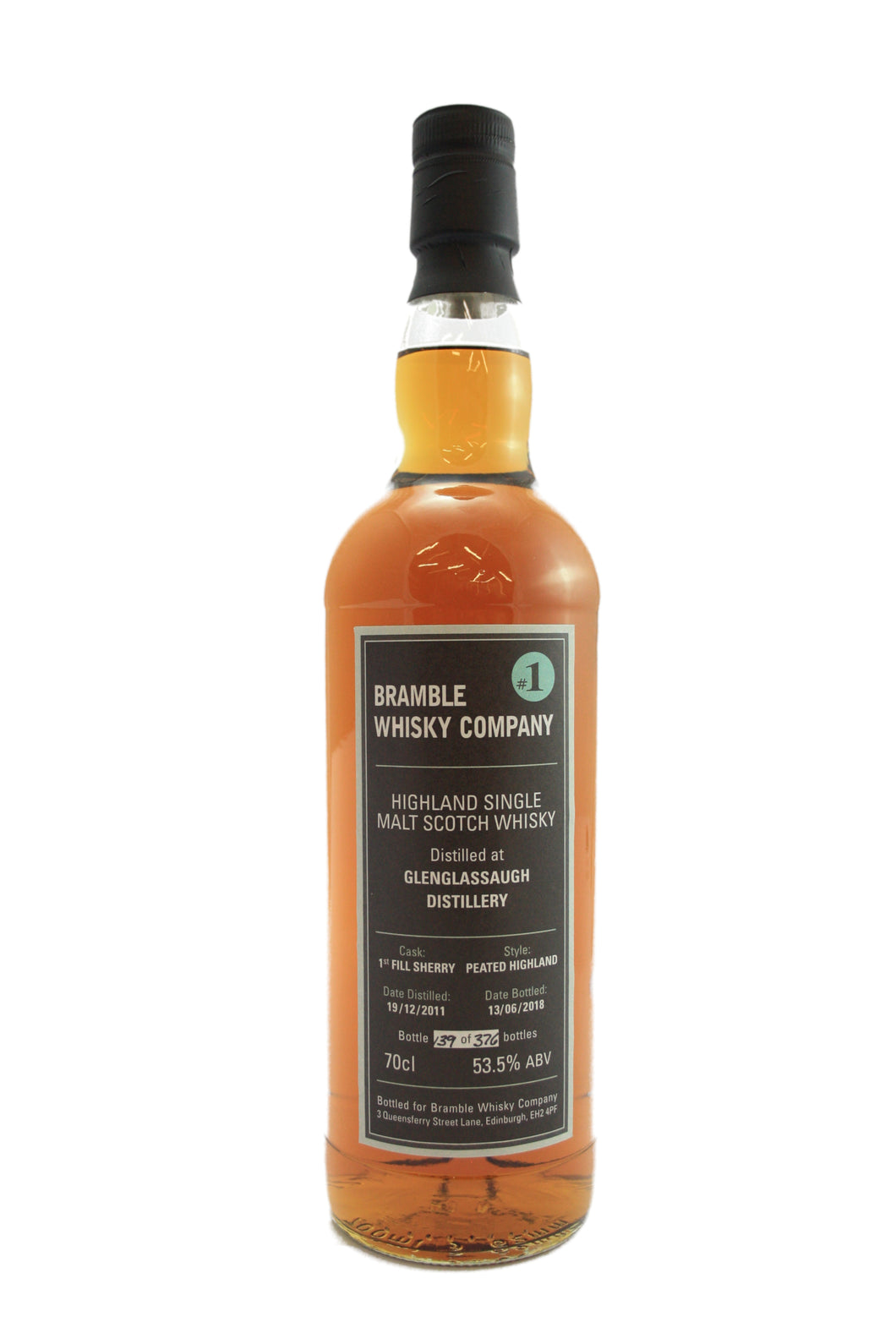 Bramble Whisky Company Single Cask Glenglassaugh 53.5% 70cl