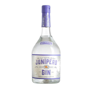 bottle of junipero gin