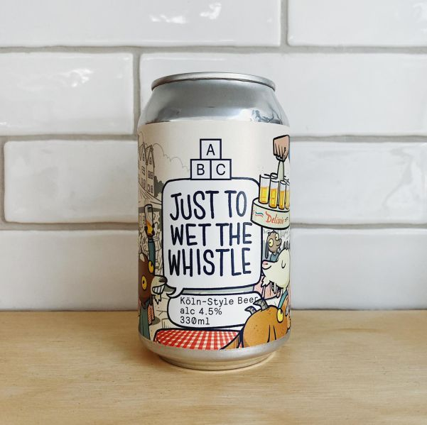 Alphabet Brew Co 'Just To Wet The Whistle' 4x 330ml