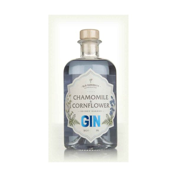 Old Curiosity Chamomile & Cornflower Gin - 50cl