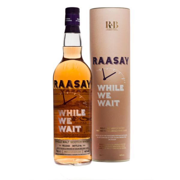 Raasay While We Wait - 3rd Bottling - 70cl