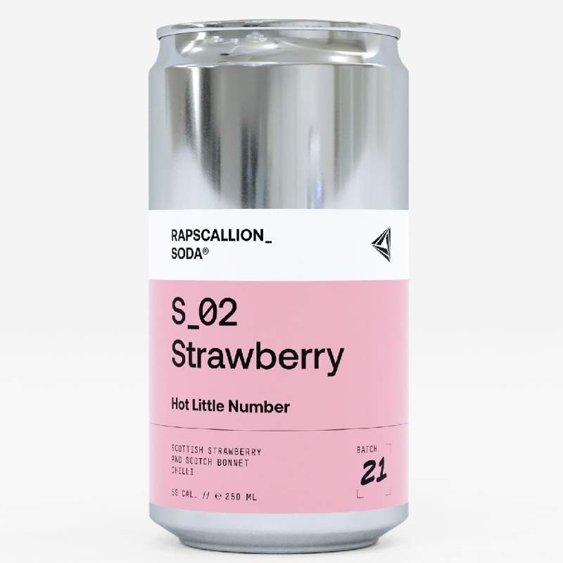 rapscallion soda strawberry