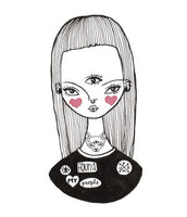 EYE FOUND MY PEOPLE Punky Moms Illustration by Taynee Tinsley