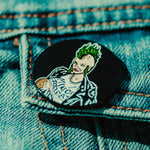 Minerva Punk Mom Breastfeeding Enamel Pin