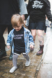 THE FUTURE IS PUNK Baby's T-shirt (6M-24M)