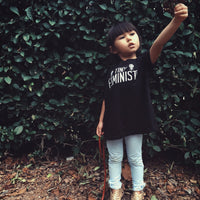 TINY FEMINIST Children's T-SHIRT from Punky Moms - Baby Feminist Shirt
