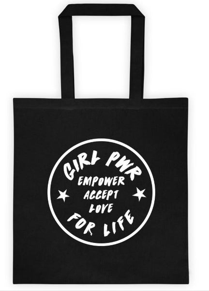 Empower Accept Love Girl Power Tote bag