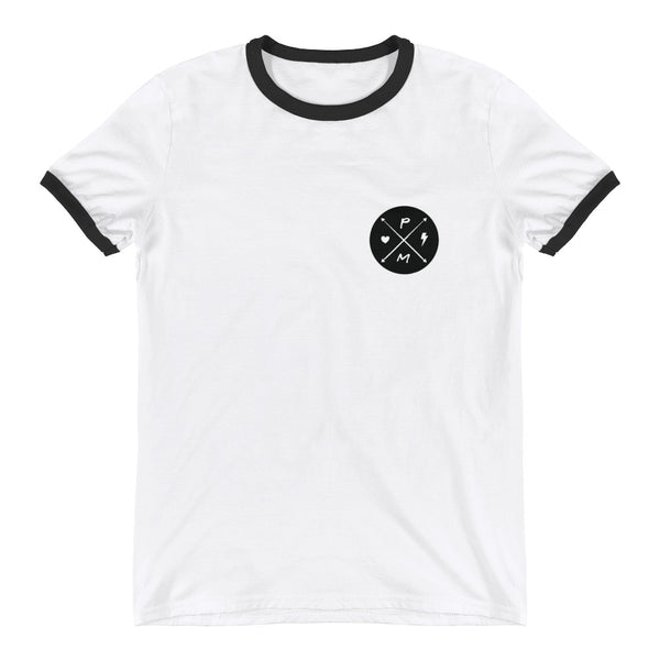 HEARTS & BOLTS Ringer T-Shirt