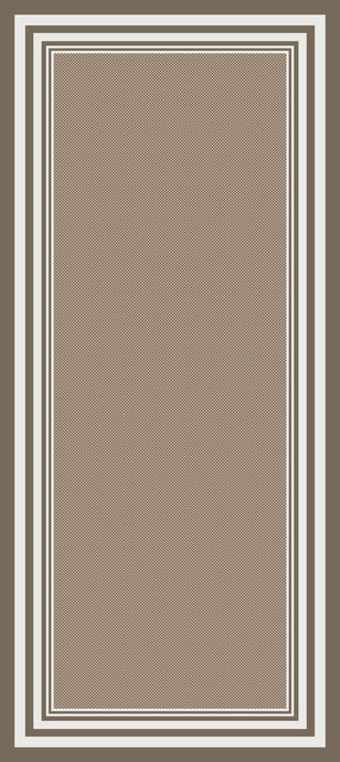 DM60 Ozzie Hallway Runner Brown 67cm x 180cm